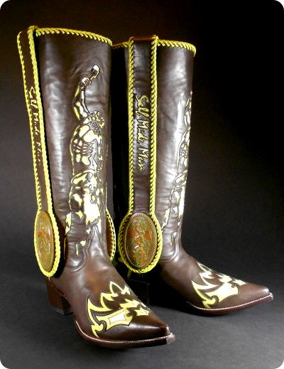 Self Made Man Boots by Rick Beckwith and  		Bobbie Carlyle